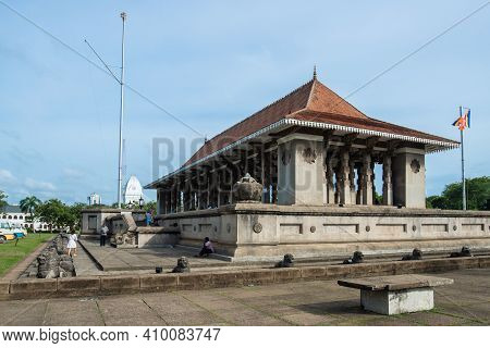 Colombo, Sri Lanka : August-11-2019 : Independence Commemoration Hall Is The National Monument Of Sr