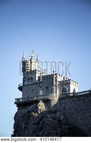 Well-known Castle Swallows Nest Near Yalta In Crimea