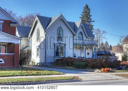 Elmira, Ontario/canada - October 20, 2020:  Bristow\'s Inn In Elmira, Ontario, Canada. Built Ca. 186
