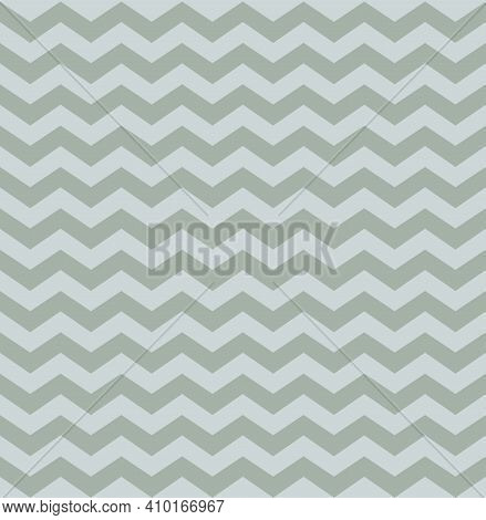 Silver Seamless Pattern. Background Stripe Chevron. Elegant Zigzag Lines. Repeating Delicate Chevron