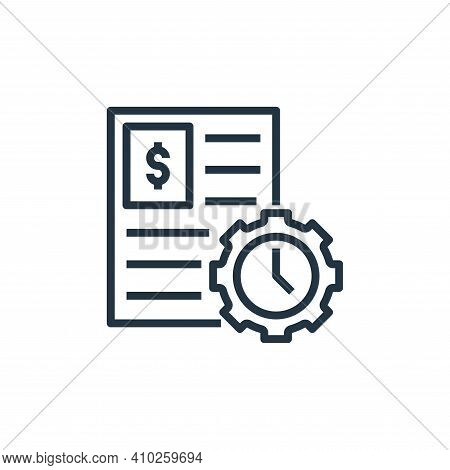 work icon isolated on white background from work life balance collection. work icon thin line outlin