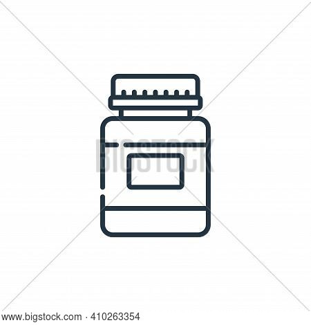 vials icon isolated on white background from plastic products collection. vials icon thin line outli