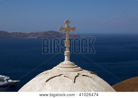 Cross And Dome.