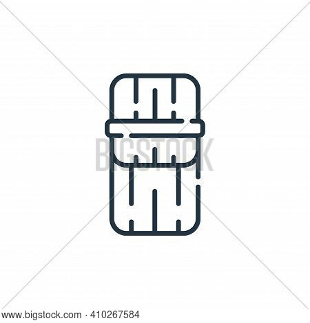 tamales icon isolated on white background from mexico collection. tamales icon thin line outline lin