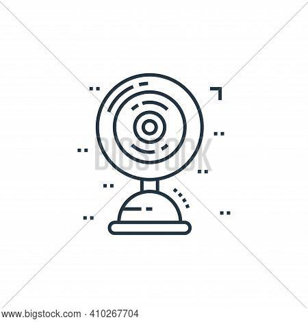 table fan icon isolated on white background from technology devices collection. table fan icon thin