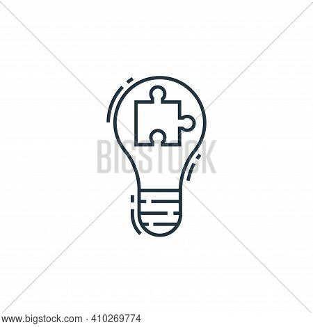 solution icon isolated on white background from environment and eco collection. solution icon thin l