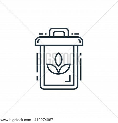 recycle icon isolated on white background from environment and eco collection. recycle icon thin lin