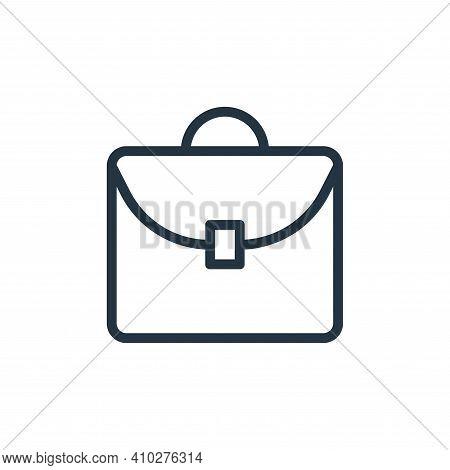 portfolio icon isolated on white background from banking and finance flat icons collection. portfoli