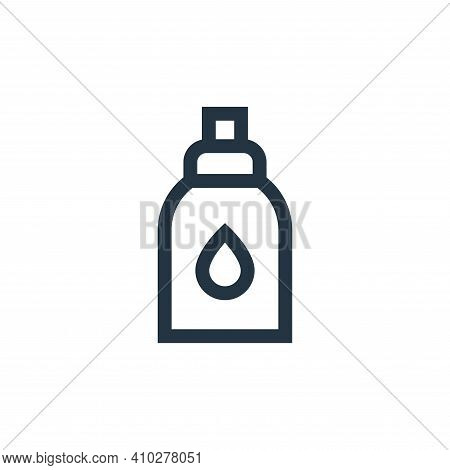 perfume icon isolated on white background from pet shop collection. perfume icon thin line outline l