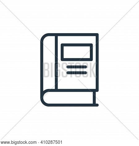 library icon isolated on white background from business collection. library icon thin line outline l