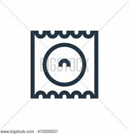 condom icon isolated on white background from pharmacy collection. condom icon thin line outline lin