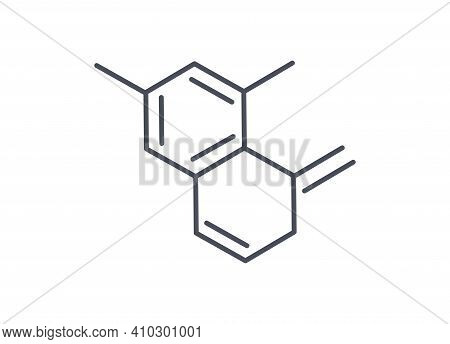 Molecular Formula Or Structural Diagram Showing A Chemical Compound With Multiple Atoms And Bonds, L