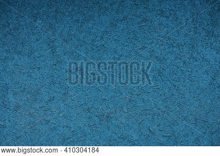 Blue Dark Wood Texture Of A Piece Of Plywood