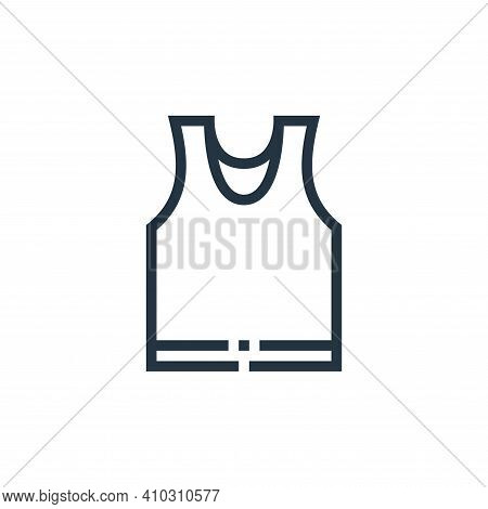 underwear icon isolated on white background from clothes and apparel collection. underwear icon thin