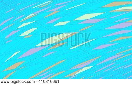 Blue Dashed Background. Pop Art Retro Vector Illustration Vintage Kitsch 50s 60s Style