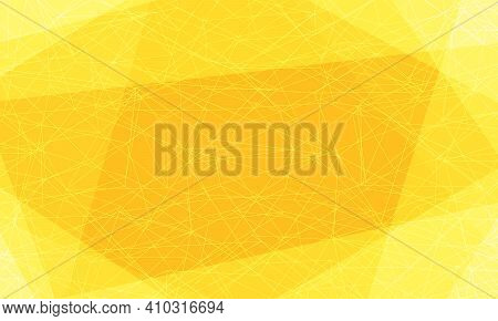 Yellow Background With Lines And Strokes. Pop Art Retro Vector Illustration Vintage Kitsch 50s 60s S
