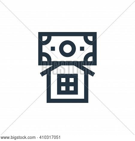 home insurance icon isolated on white background from insurance collection. home insurance icon thin