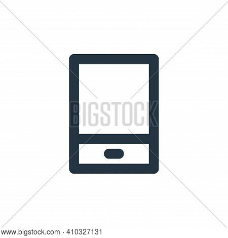 tablet icon isolated on white background from electronics collection. tablet icon thin line outline
