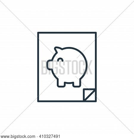 retirement plan icon isolated on white background from retirement collection. retirement plan icon t
