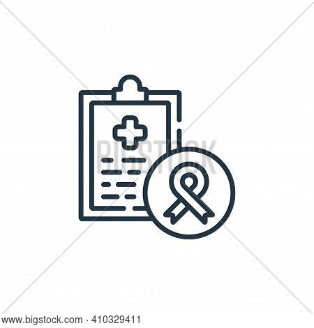 clipboard icon isolated on white background from kindness collection. clipboard icon thin line outli
