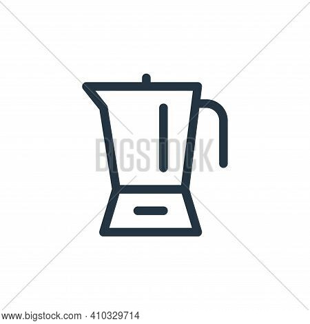 blender icon isolated on white background from electronics collection. blender icon thin line outlin