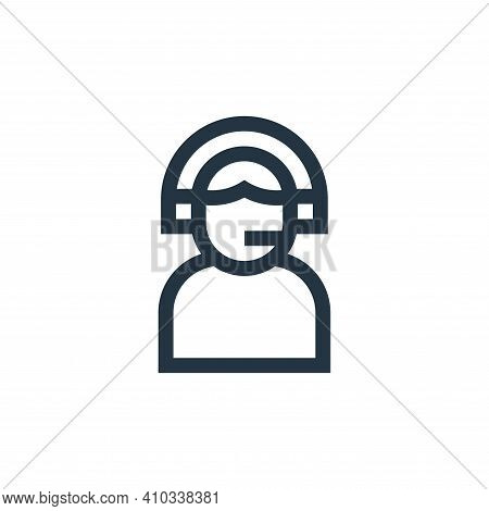 assistance icon isolated on white background from insurance collection. assistance icon thin line ou