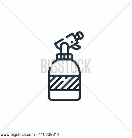 spray icon isolated on white background from hairdressing and barber shop collection. spray icon thi