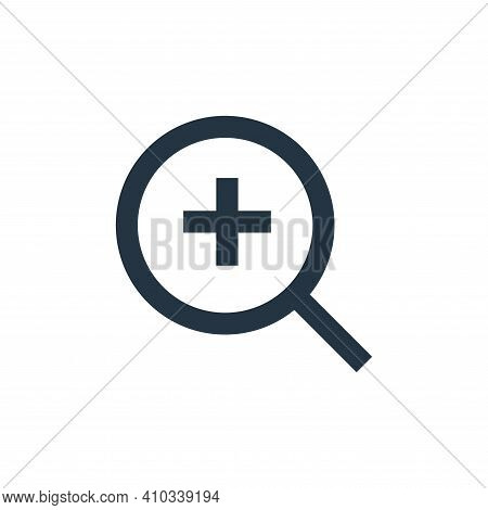 search icon isolated on white background from user interface collection. search icon thin line outli
