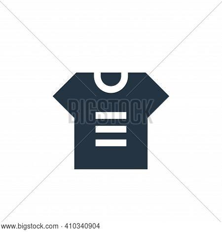 t shirt icon isolated on white background from advertisement collection. t shirt icon thin line outl