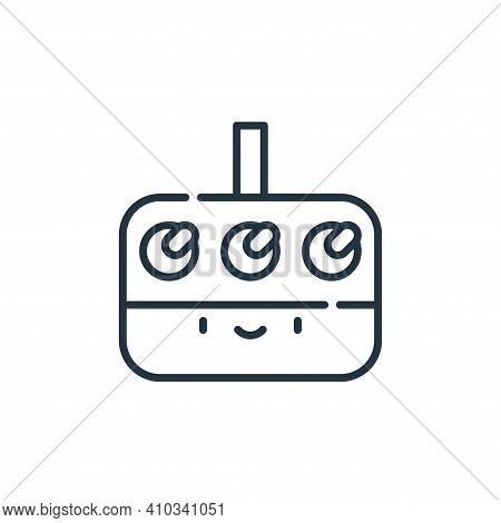 synthesizer icon isolated on white background from reggae collection. synthesizer icon thin line out
