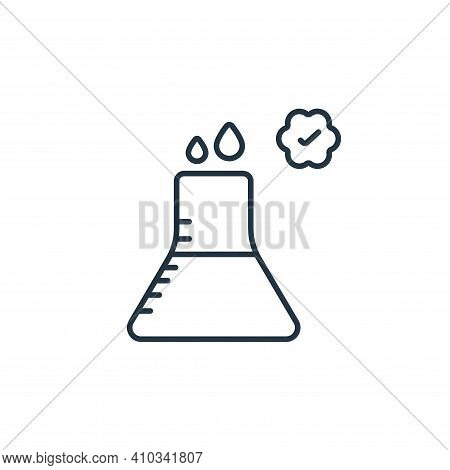 medical icon isolated on white background from beauty cosmetics collection. medical icon thin line o