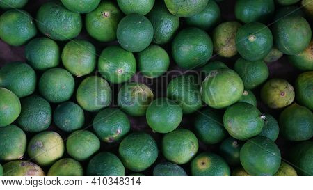 Lime Green In Large Quantities. Some Are Yellow