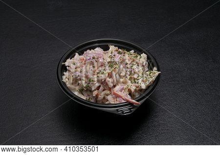 Traditional Southern American Cuisine Known As Cole Slaw