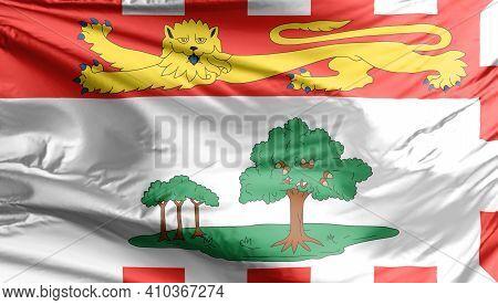 Prince Edward Island Flag. A Canadian Province.