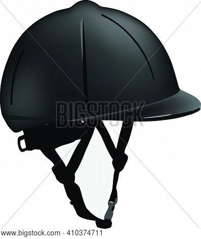 Sportswear Riding Hat Black Color Sportswear Riding Hat Black Color