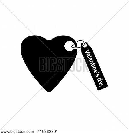 Heart Icon Vector. Perfect Love Symbol. Valentine's Day Sign, Emblem Isolated On White Background, S