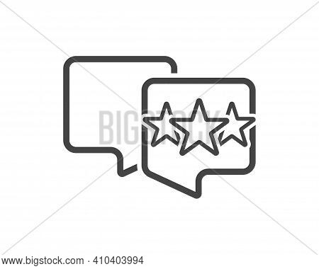 Vector Icon Hand Presses A Star Button. Rating Icon On White Background.