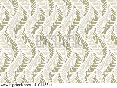 Modern Stylish Abstract Texture Like Flower Pattern Vector, Repeating Geometric Tiles Linear Petal O