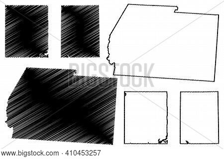 Ross, Portage And Preble County, Ohio State (u.s. County, United States Of America, Usa, U.s., Us) M