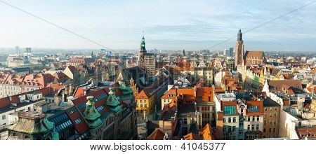 WROCLAW, POLAND - DECEMBER 29: Old city hall on December 29, 2012 in Wroclaw, Poland. The World Games 2017 will be hosted in Wroclaw, It was chosen by the International World Games Association.