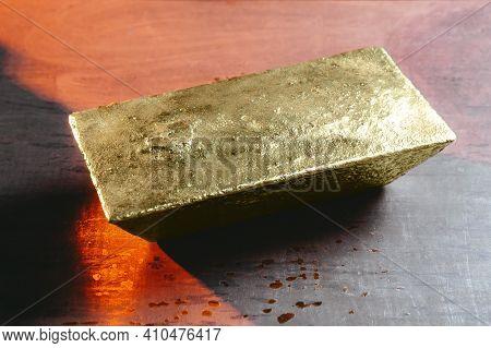 Gold Mining Ingot Yellow Foundry Metal Manufacturing