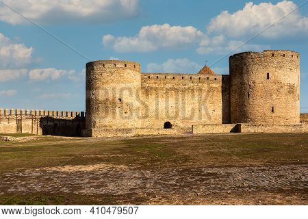 Medieval Fortress In Akkerman City.  Akkerman Fortress Is A Historical And Architectural Monument Bu