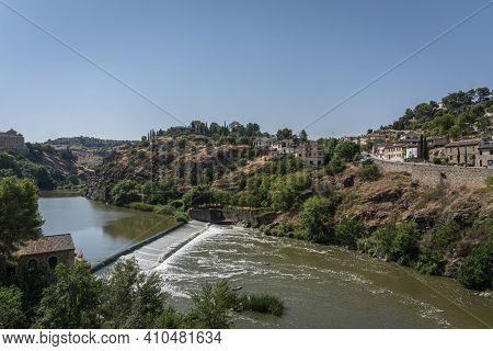 View Of The River Tagus At Toledo, Spain