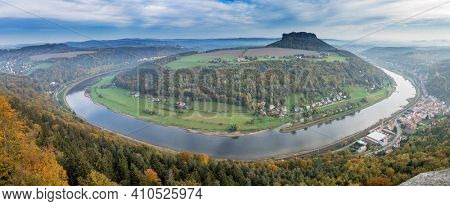 Elbe in Saxony alps High quality photo