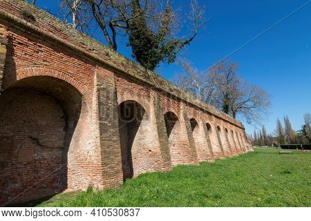 The Walls Of Ferrara Are A Fortified Wall That Originally Completely Surrounded The Este City For A