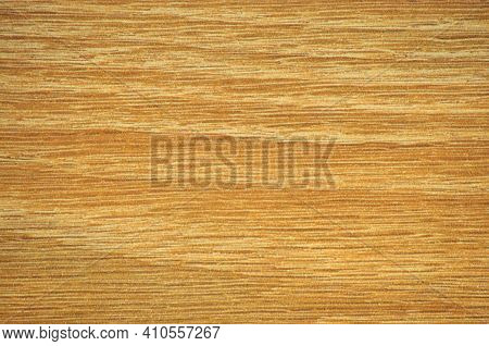 Natural Light Alder, Flat Wood Surface With A Wavy Pattern, Close-up.