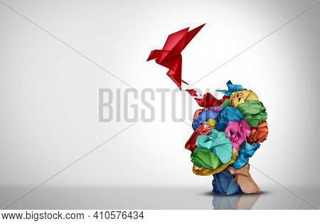 Innovative Idea And Designer Creative Mind Concept Or Brainstorm Ideas With Smart Design Thinking 3d
