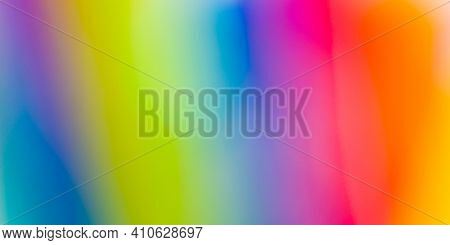 Blurred and colorful abstract background, smooth color gradient