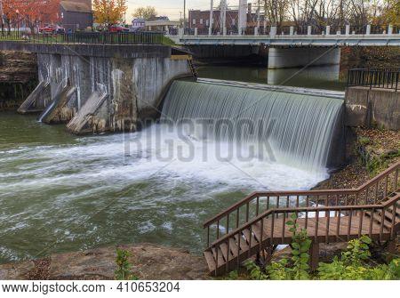 The Newton Falls In Ohio, United States