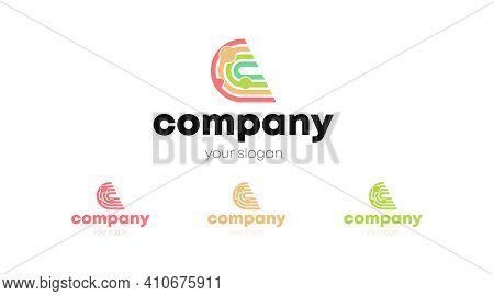 Brand Identity Using Letter C. Letter C Logo Vector Template.